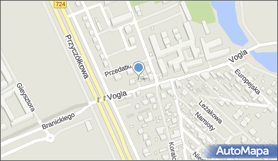 nr 7909, Zygmunta Vogla 1A, Warszawa - Trafostacja