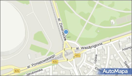 nr 9123, Aleja Zieleniecka, Warszawa 03-727 - Trafostacja