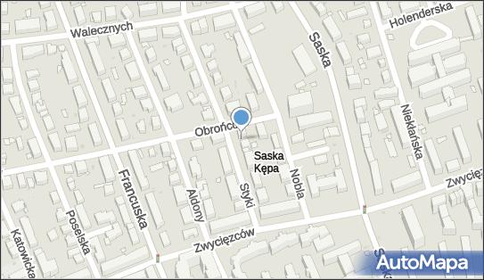 nr 9422, Obrońców 34, Warszawa - Trafostacja