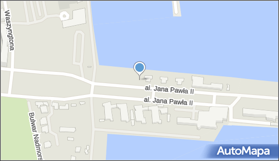 nr T-2243, Aleja Jana Pawła II, Gdynia - Trafostacja