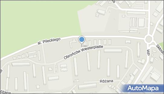Trafostacja, Obrońców Westerplatte, Kętrzyn 11-400 - Trafostacja