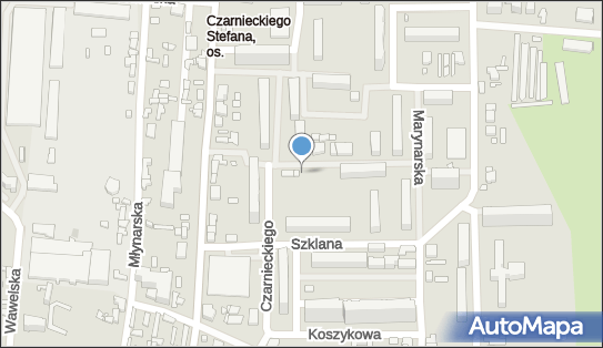 Trafostacja, Zbożowa 8, Łódź - Trafostacja