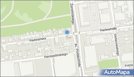 Trafostacja, Radwańska 36a, Łódź - Trafostacja