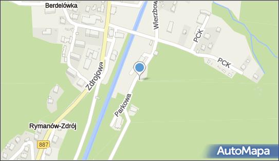 Staś, Parkowa, Rymanów-Zdrój 38-481 - Ujęcie wody, Źródło