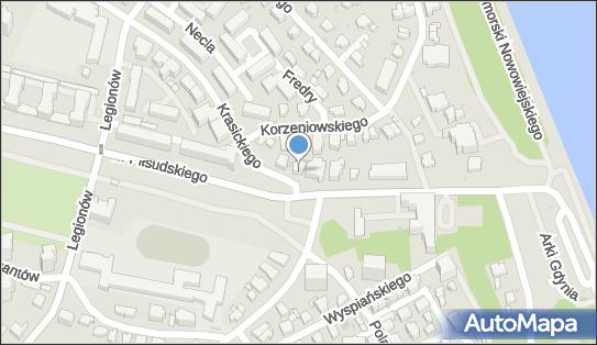 Żabka - Sklep, ul. Krasickiego 45/, Gdynia 81-377, godziny otwarcia