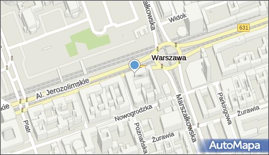 Hotel Polonia, Aleje Jerozolimskie 45, Warszawa - Zabytek architektury