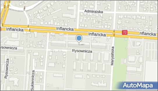 Krawiectwo Handel Hurt Detal, Inflancka 25, Łódź 91-852 - Zakład krawiecki, NIP: 7262143891