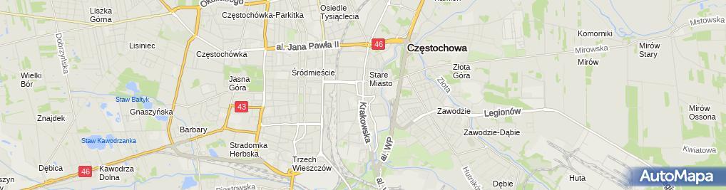 Zdjęcie satelitarne Administrator Domu Juliusz Domagalski