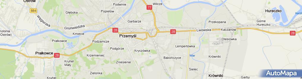 Zdjęcie satelitarne Baczyk Properties
