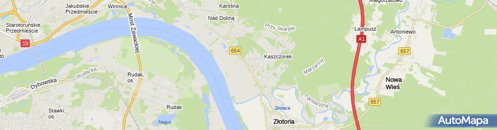 Zdjęcie satelitarne Dobies Marzena Biuro Doradztwa