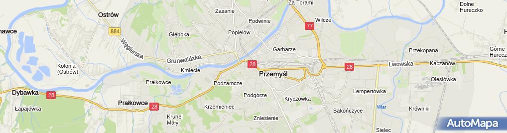 Zdjęcie satelitarne Elżbieta Urban La M Ur Morawiecki&Urban