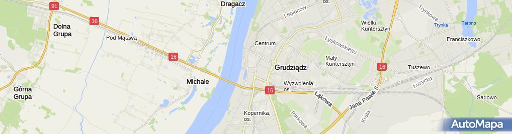 Zdjęcie satelitarne Firma City - Mirosława Waszniewska