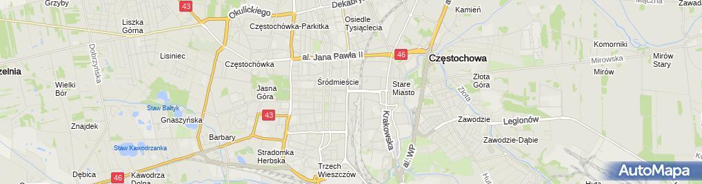 Zdjęcie satelitarne Firma Usługowa Zygmunt Chełmicki i Spółka