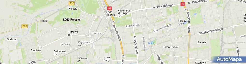 Zdjęcie satelitarne G House Ługowska i Wspólnicy