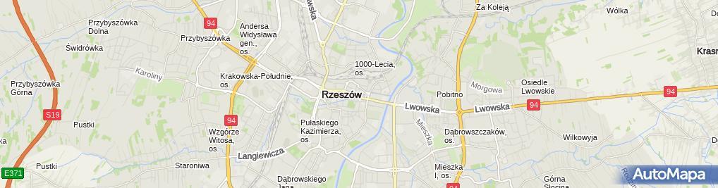 Zdjęcie satelitarne Jacek Bigus - Działalność Gospodarcza