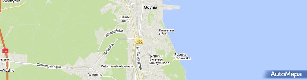 Zdjęcie satelitarne Jolanta Wiśniewska Wynajem