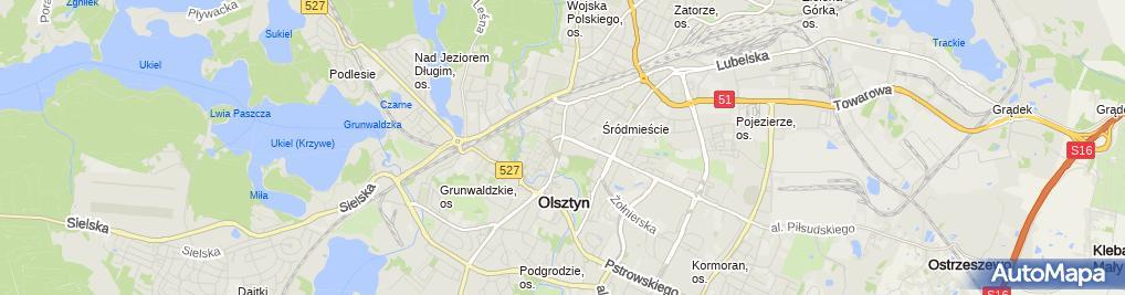 Zdjęcie satelitarne M House J E Moszczyńscy