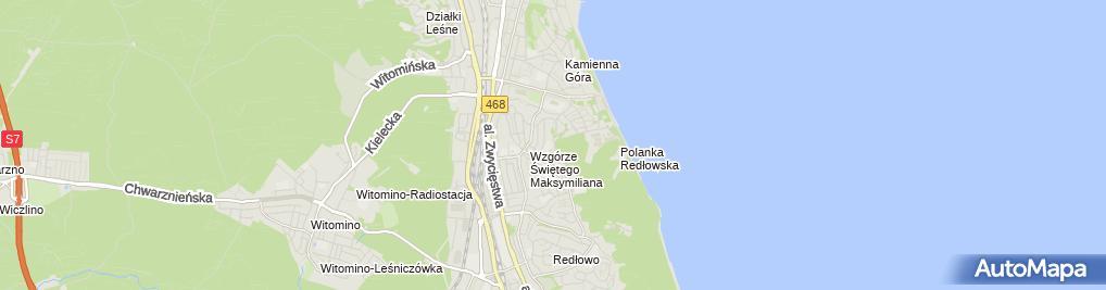 Zdjęcie satelitarne Marian Dylewski - Działalność Gospodarcza