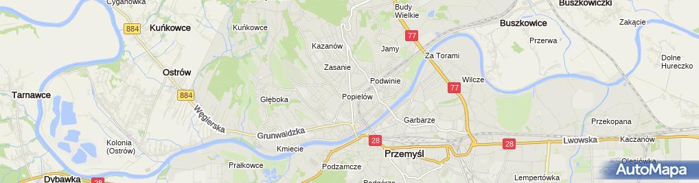 Zdjęcie satelitarne Najem Lokalu Andrzej Biedroń