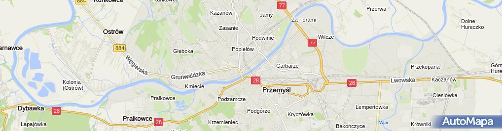 Zdjęcie satelitarne Najem Lokalu Barbara Czyżykiewicz