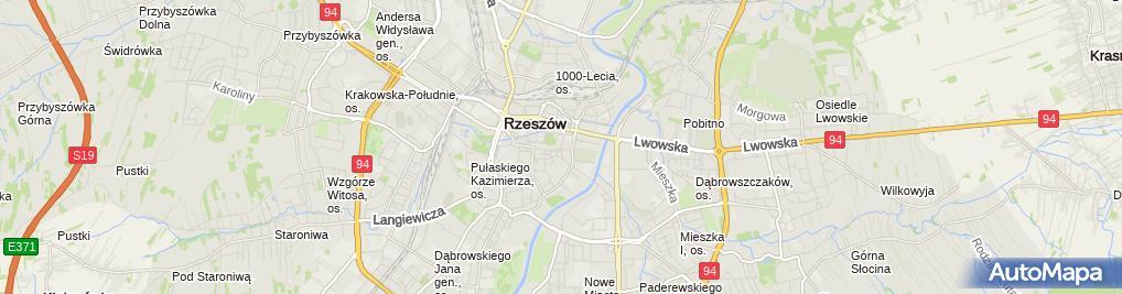 Zdjęcie satelitarne PHU Elektrotel V Włodzimierz Olech