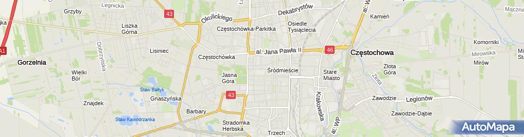 Zdjęcie satelitarne Przedsiębiorstwo Handlowe Ajax Jolanta Janik