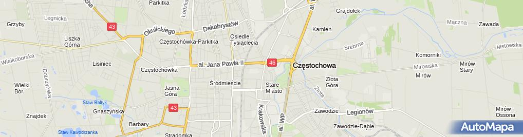 Zdjęcie satelitarne Przedsiębiorstwo Usługowo-Handlowe ''Profit'' Michał Janik