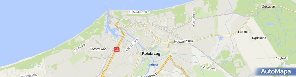 Zdjęcie satelitarne Spółdzielnia Mieszkaniowa Wspólnota
