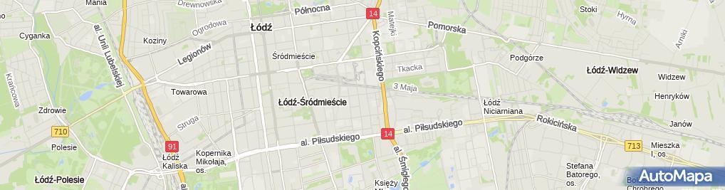 Zdjęcie satelitarne Wspólnota Zarządzanie Nieruchomościami MGR Inż Ireneusz Sobolewski w Likwidacji