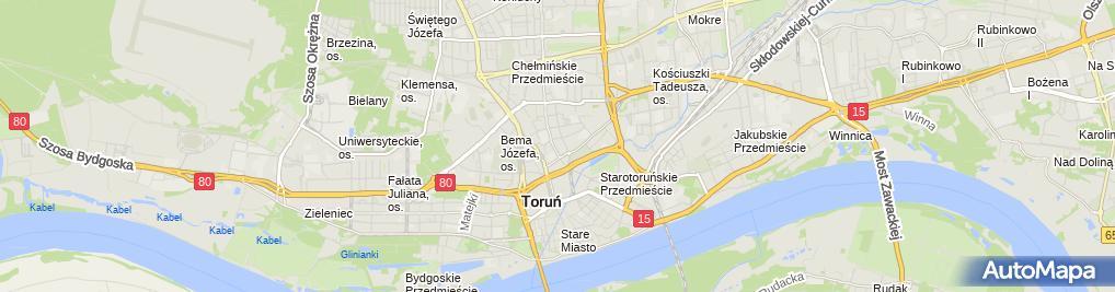 Zdjęcie satelitarne Wynajem Nieruchomości