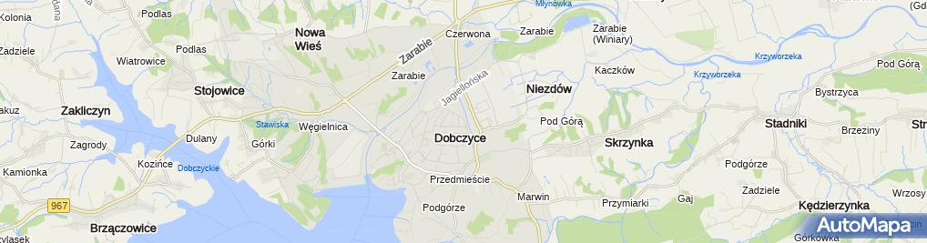 Zdjęcie satelitarne Agencja kreatywna Brandowski
