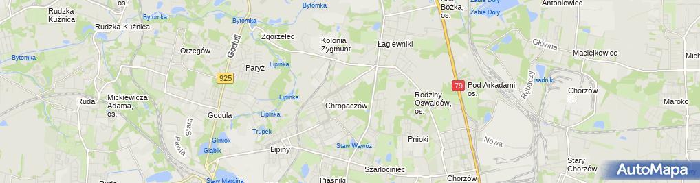 Zdjęcie satelitarne LucDoroDesign Łukasz Dorociak