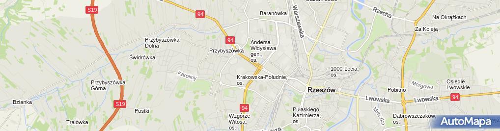Zdjęcie satelitarne Elektromechanika - Ciąpała Mariusz