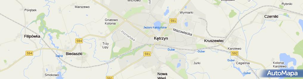 Zdjęcie satelitarne Apteka 'Remedium' Sp. Z O.o.