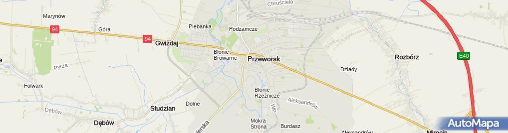 Zdjęcie satelitarne Apteka A-W-Med.