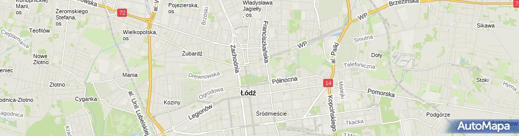 Zdjęcie satelitarne Apteka Apis