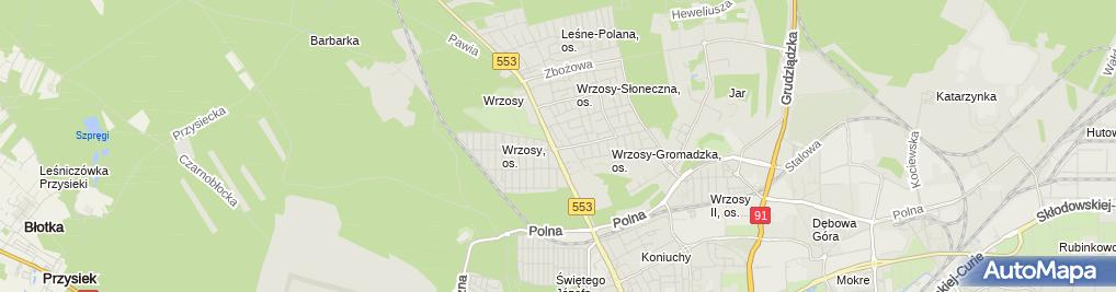 Zdjęcie satelitarne Apteka Bliska Tobie