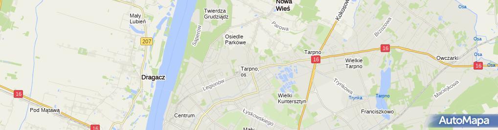 Zdjęcie satelitarne Apteka Farmacja24