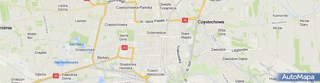 Zdjęcie satelitarne Apteka Główna