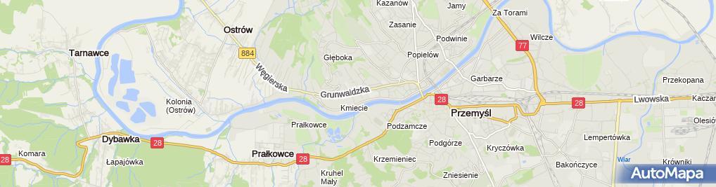 Zdjęcie satelitarne Apteka Lafarma