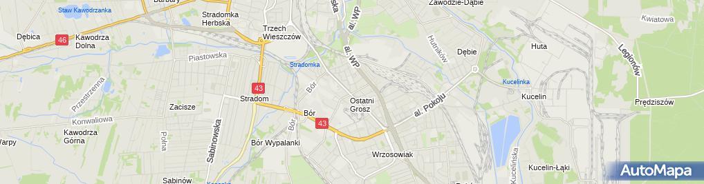 Zdjęcie satelitarne Apteka Osiedlowa