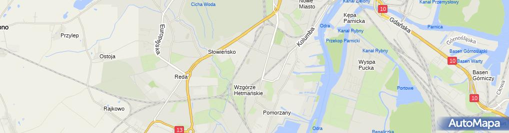 Zdjęcie satelitarne Apteka Pigułka
