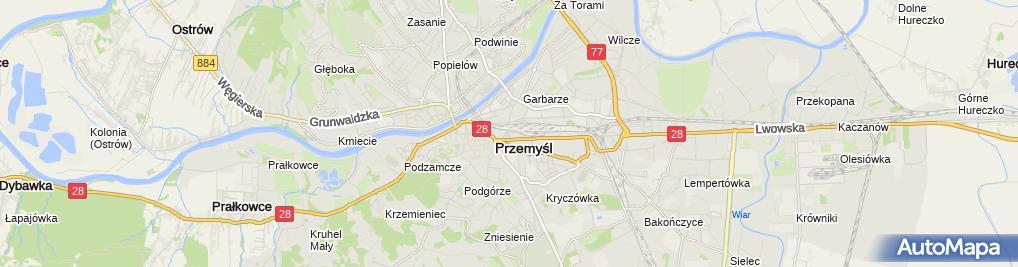 Zdjęcie satelitarne Apteka Przy Dworcu