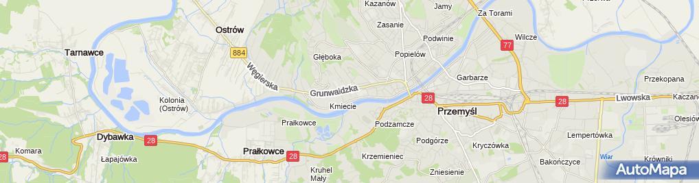 Zdjęcie satelitarne Apteka Rodzinna