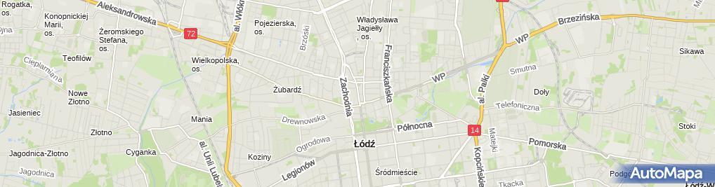 Zdjęcie satelitarne Apteka-Sieciowa