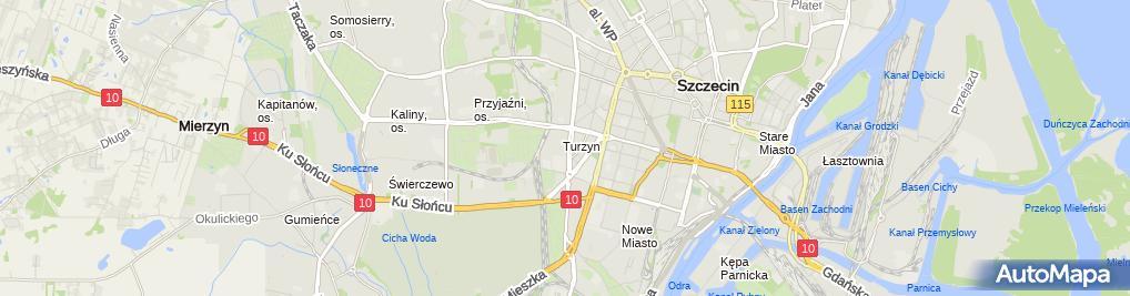 Zdjęcie satelitarne Apteka Zdrowie