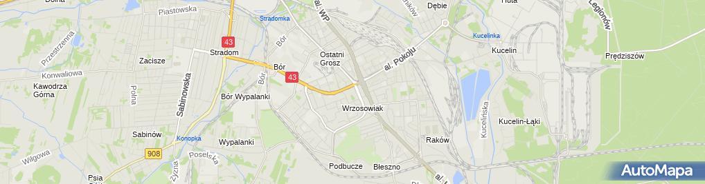 Zdjęcie satelitarne Apteka Zdrowit +