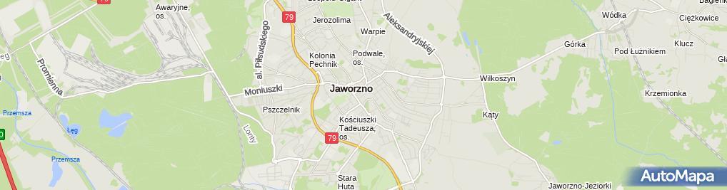 Zdjęcie satelitarne Apteka Zdrowit+