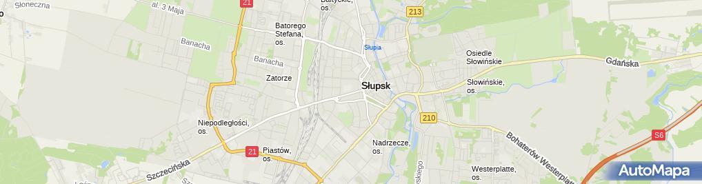 Zdjęcie satelitarne Dom Leków Ratuszowa