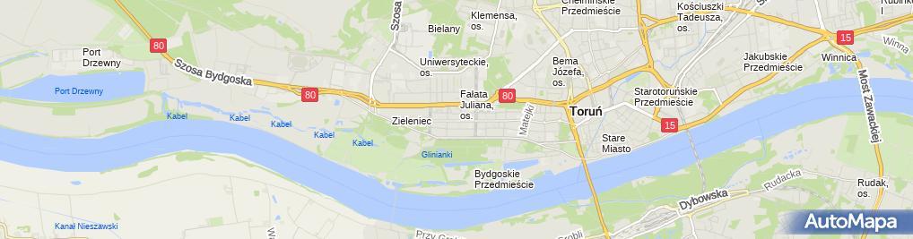 Zdjęcie satelitarne Medapteka